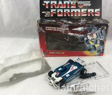 Transformers Original G1 1984 Autobot Car Mirage Complete w/ Box & Bubble