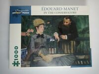Pomegranate Artpiece Jigsaw Puzzle 1000 pc. In The Conservatory, Edouard Manet.