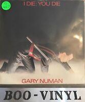"""Gary Numan - I Die You Die 7"""" UK P/S 1980 Ex Con"""