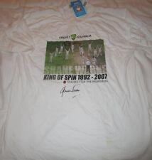 "Shane Warne (Australia) signed ""King of Spin"" Limited Edition Cricket Shirt +COA"