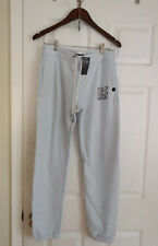 NWT- A&F Abercrombie & Fitch Women Logo Banded Sweatpants (Light Blue, S)