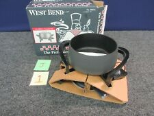 West Bend Professional Series 88012 Fondue Pot Cooking Electric 110v New
