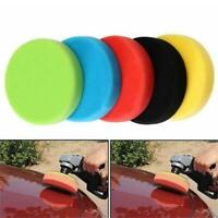Flat Sponge Buffing Pads Waxing Polishing Kit Auot Car Foam Sanding SL