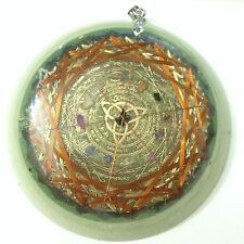 Wicca 12 Zodiac Dark Energies Protector, 36 Vortex Metayantra Device ORGONE