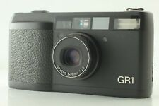 【NEAR MINT】RICOH GR1 Black Point & Shoot 35mm Film Camera From JAPAN #0052