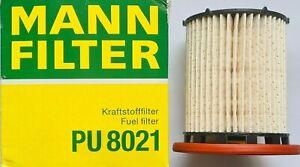 Fuel Filter for Audi Seat Skoda VW 5Q0127177 PU8021 Mann Hummel New