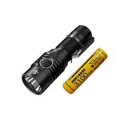Combo: NITECORE MH23 1800 Lumen Compact Rechargeable Flashlight w/10A Battery