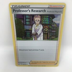 Professors Research 178/202   Sword & Shield Base   Mint Condition