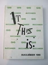 1988 Gulf Comprehensive High School New Port Richey Florida FL Yearbook