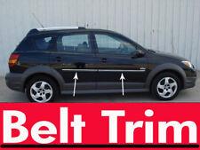 Pontiac VIBE CHROME SIDE BELT TRIM DOOR MOLDING 2003 2004 05 06 07 08 2009 2010