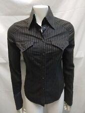 camicia donna Gaudì misto cotone elasticizzato taglia 44