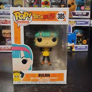 Funko Pop! Animation Dragon Ball Z Bulma #385 Vinyl Figure With Protector