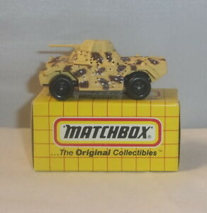 MJ7 Matchbox -  Yellow Box - MB70 Military Tank - Tan