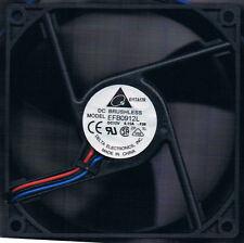 Delta 92mm x 92mm x 25mm 3 Blade EFB0912L-F00  Ball Bearing Fan