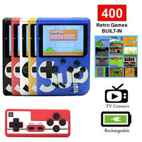 SUP Handheld Game Console Built-in 400 Classic Games Mini TV Box Pocket Player