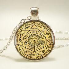 Seals of the Seven Archangels Cabochon Pendant Necklace Archangel