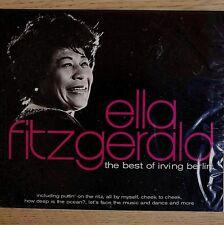 NEW SEALED - ELLA FITZGERALD - BEST OF IRVING BERLIN - Jazz Pop Music CD Album