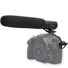 MIC DC/DV Microphone for Canon EOS M 700D 650D 600D 550D 100D 70D 60D 1DX T5i
