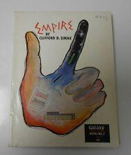 1951 EMPIRE by Clifford Simak GALAXY Science Fiction Novel #7 FVF SCI-FI