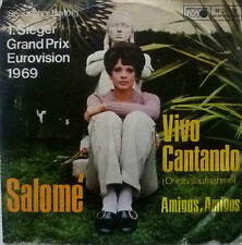 "7"" GRAND PRIX 1969 ( SPAIN ) SALOME : Vivo Cantando"