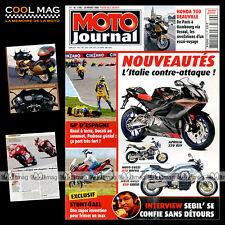 MOTO JOURNAL N°1706 BERTRAND SEBILEAU, HONDA NT 700 V DEAUVILLE, YAMAHA XT 500