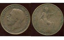 ROYAUME UNI  one penny 1914