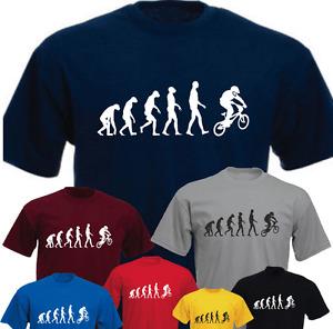 Ape Human BMX Evoultion New Funny T-shirt Present Gift