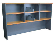 Desk bookcase hutch 1800x1070H home office furnitur