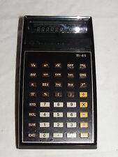 TEXAS INSTRUMENTS TI-45 TASCHENRECHNER CALCULATOR T 45   (215)