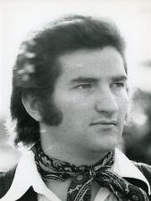 EDDY MITCHELL 70s VINTAGE PHOTO ORIGINAL