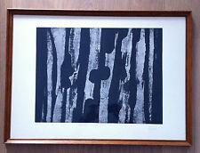 Belle lithographie  N° 2 Dedalo Montali (1909 - 2001)