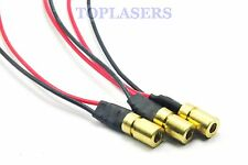 3pcs mini brass 780nm 3mw proche infrarouge ir laser diode dot moudle 6x10mm DC3V