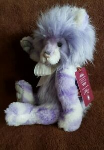 Charlie Bears Lisa. Plumo. 2020. Ltd Ed 3000. Only 1200 actually made! As new.