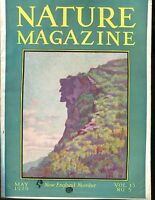 Nature Magazine May 1929 Man On The Mountain VG No ML 020617jhe