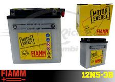 12N5-3B BATTERIA MOTO FIAMM MOTOR ENERGY YUASA YB5L-B 5 Ah 45A  + LIQUIDO