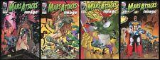 Mars Attacks Image Comic Set 1-2-3-4 Spawn Savage Dragon Witchblade Shadowhawk