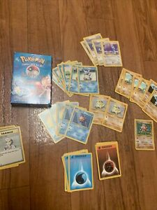 Pokemon Blackout Theme Deck Opened Box Holo Hitmonchan 57 Cards LP