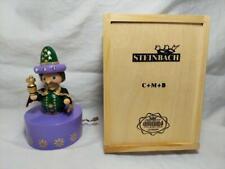 Steinbach Nutcracker Caspar Wiseman Musical NIB Wood Box Silent Night Wind Up