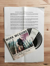 Mark McGuire Along The Way Promo CD 2014 Dead Oceans