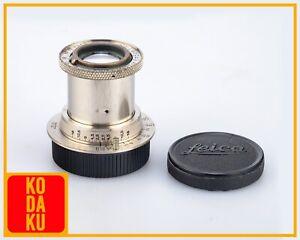 Leica Leitz Wetzlar Hektor Nickel 5cm 50mm F/2.5 M39 Screw Mount LTM Tested