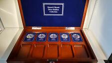 More details for (lot 708) 2oz queen's beasts silver bullion , part set  lion, griffin, dragon...