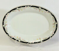 "MICHELLE Crown Ming Fine China Jian Shiang 13 3/4"" Oval Serving Plate Platter"