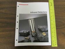Hamamatsu Infrared Detectors Catalog 48pp 1993