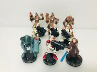Star Wars Hasbro Lot of 9 Attacktix Battle Game Action Figures '05