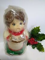 vintage Christmas Spirit Candle 1981 JASCO Choir Boy UNUSED