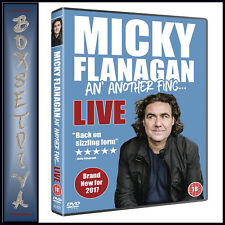 MICKY FLANAGAN - AN ANOTHER FING LIVE   *BRAND NEW DVD*