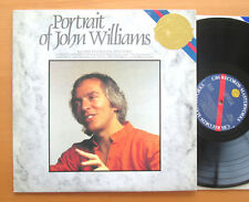 CBS M 37791 Portrait Of John Williams Vivaldi Bach Beatles etc 1982 NEAR MINT LP