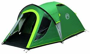 Coleman Kobuk Valley 4 Plus Tent - Green/Grey, One Size