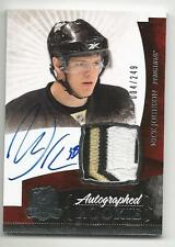 10-11 Nick Johnson The Cup Auto Rookie Card RC #135 Sweet Jersey Patch 004/249