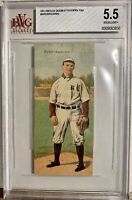 1911 T201 Mecca Double Folders Tobacco Harry BakerThomas Donnie BGS BVG 5.5 Mint